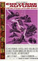 Cheyenne Autumn 1964 DVD - Richard Widmark / Carroll Baker